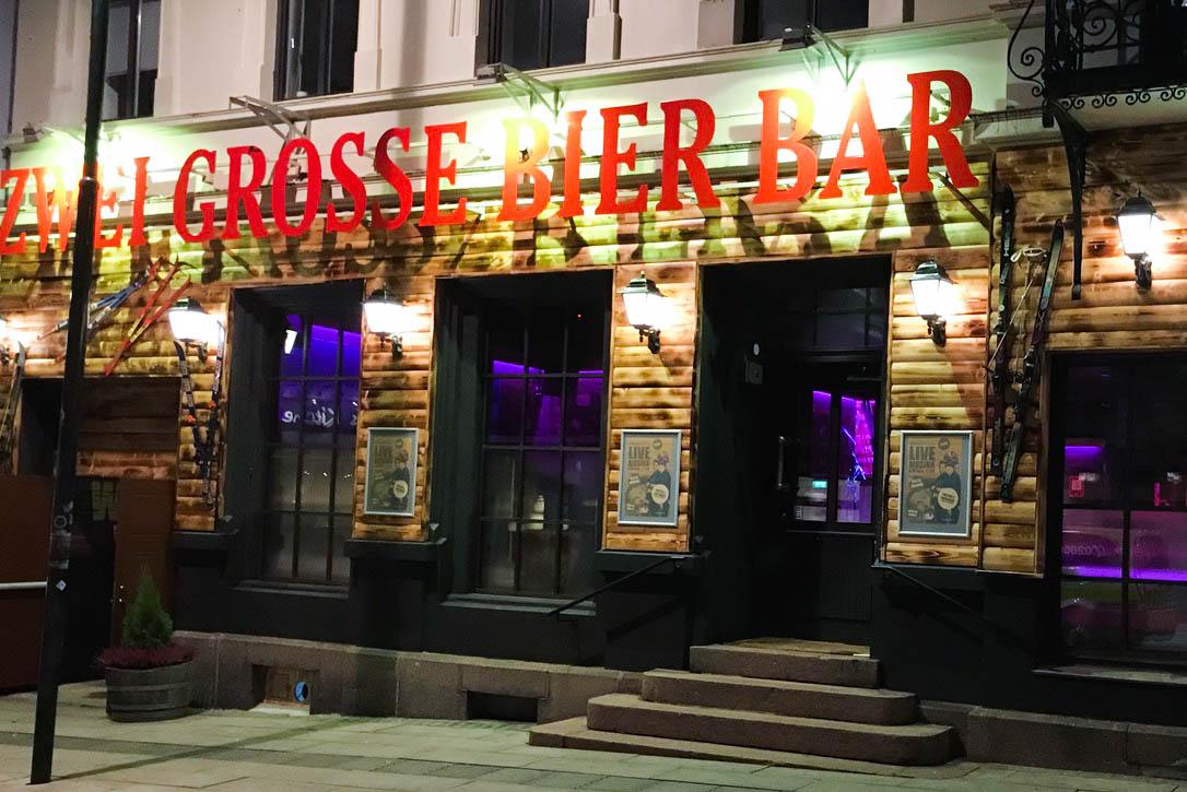 Zwei Grosse Bier Bar, Kristiansand, Norge